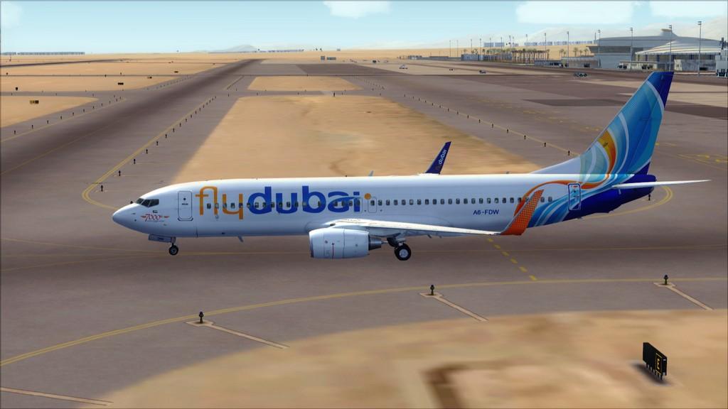 Fly Dubai -> HESH - OMDB HESH-OMDB3