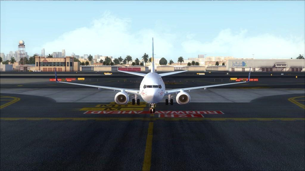 Fly Dubai -> HESH - OMDB HESH-OMDB31