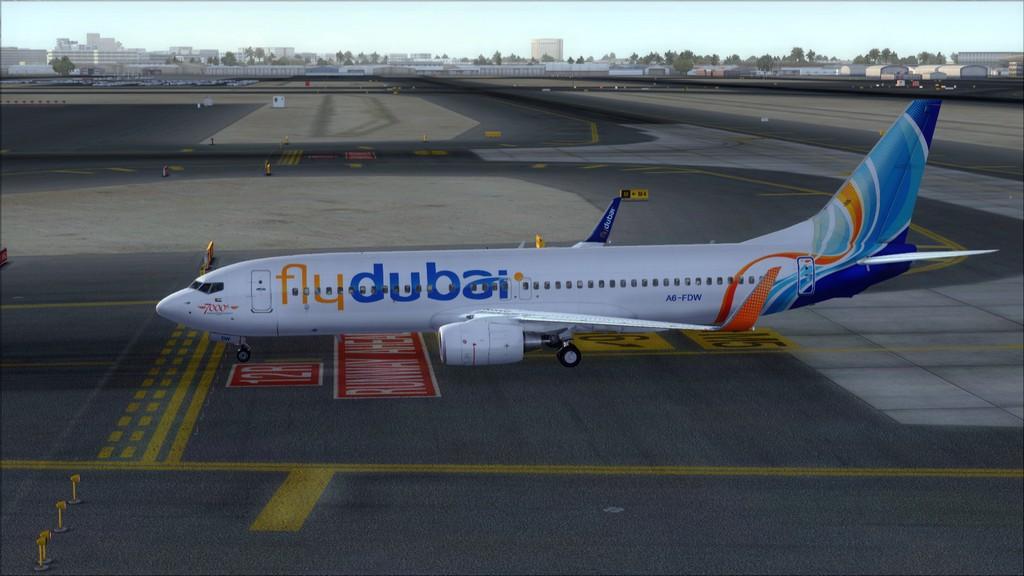 Fly Dubai -> HESH - OMDB HESH-OMDB32