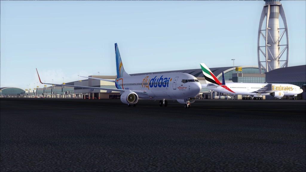 Fly Dubai -> HESH - OMDB HESH-OMDB33