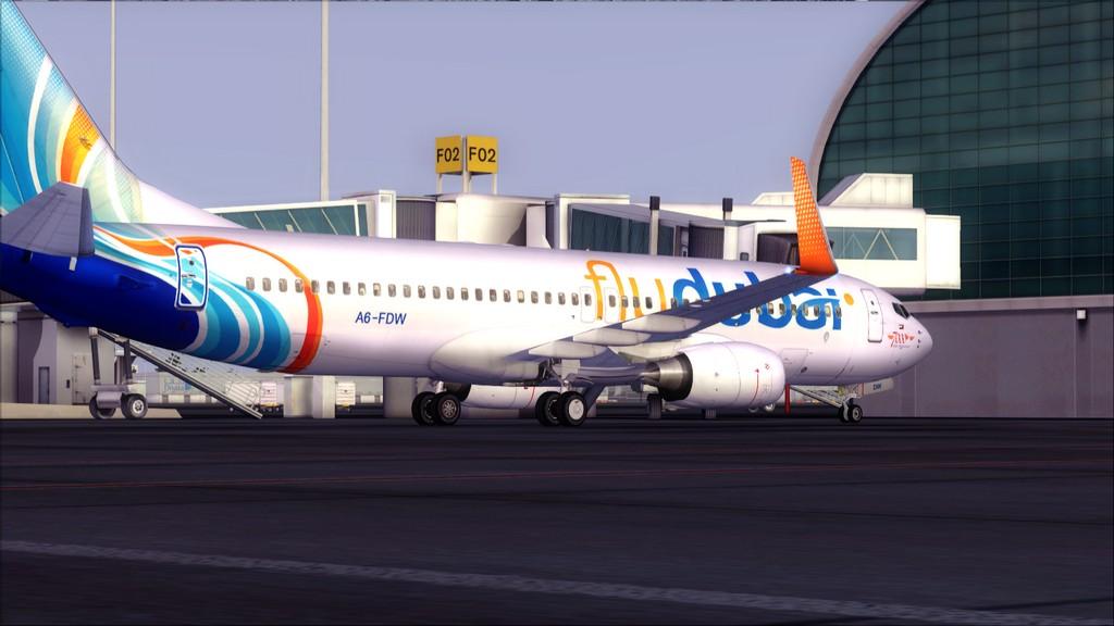 Fly Dubai -> HESH - OMDB HESH-OMDB36