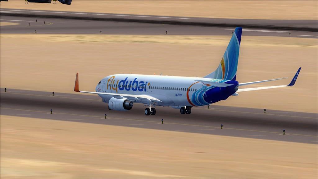 Fly Dubai -> HESH - OMDB HESH-OMDB4