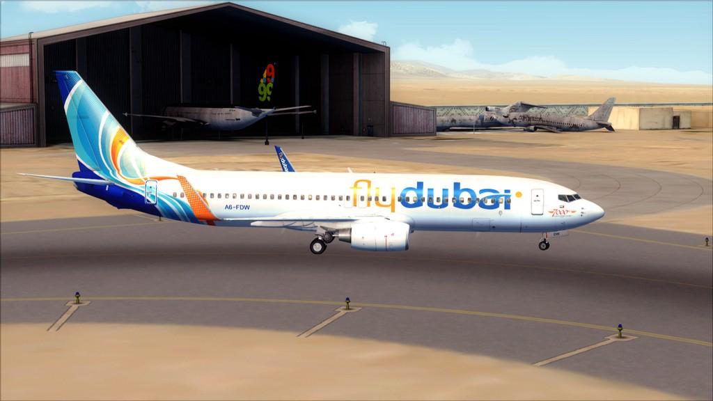 Fly Dubai -> HESH - OMDB HESH-OMDB5