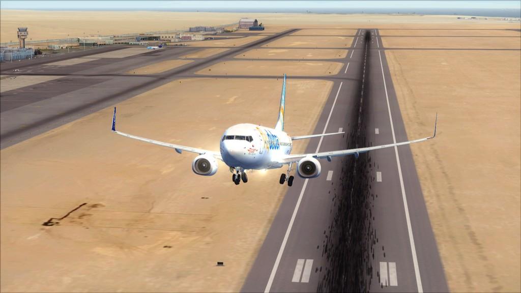 Fly Dubai -> HESH - OMDB HESH-OMDB6