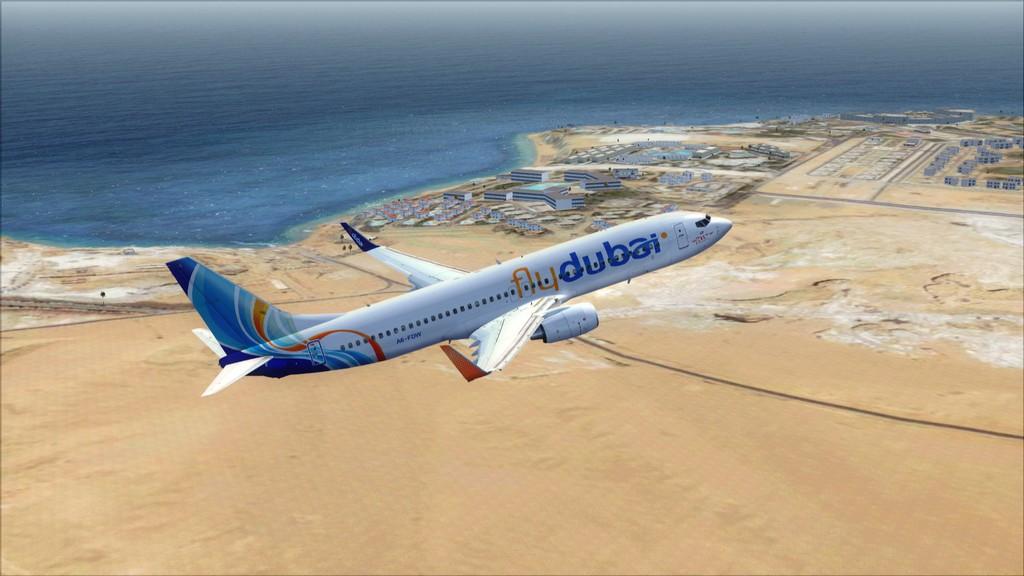 Fly Dubai -> HESH - OMDB HESH-OMDB7