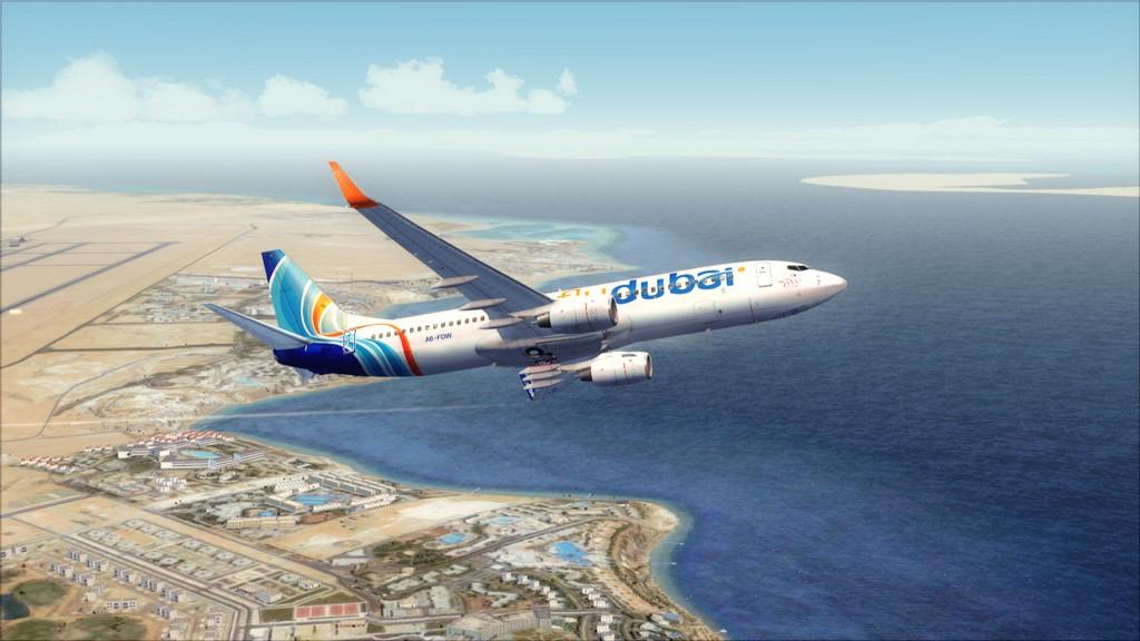 Fly Dubai -> HESH - OMDB HESH-OMDB8