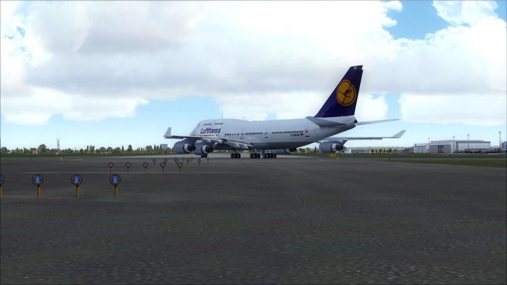 B744 Lufthansa->Bate e Volta EDDL-OMDB EDDL-OMDB1