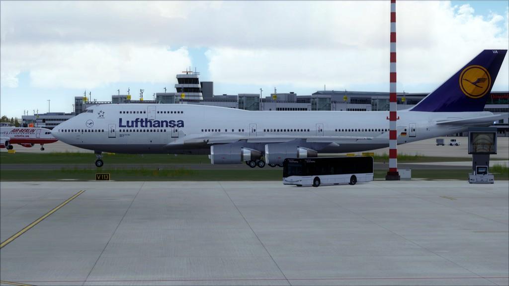 B744 Lufthansa->Bate e Volta EDDL-OMDB EDDL-OMDB2