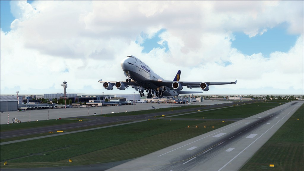 B744 Lufthansa->Bate e Volta EDDL-OMDB EDDL-OMDB3