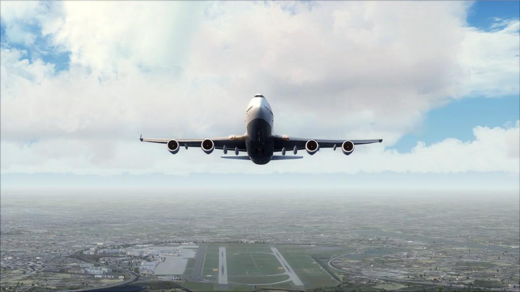 B744 Lufthansa->Bate e Volta EDDL-OMDB EDDL-OMDB4