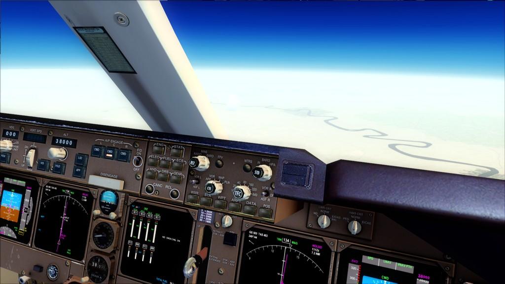 B744 Lufthansa->Bate e Volta EDDL-OMDB EDDL-OMDB5