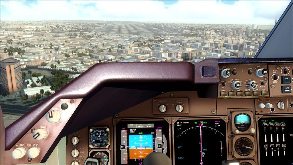 B744 Lufthansa->Bate e Volta EDDL-OMDB EDDL-OMDB7