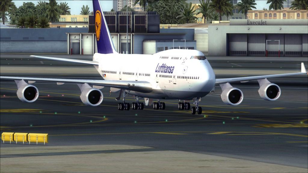 B744 Lufthansa->Bate e Volta EDDL-OMDB EDDL-OMDB8