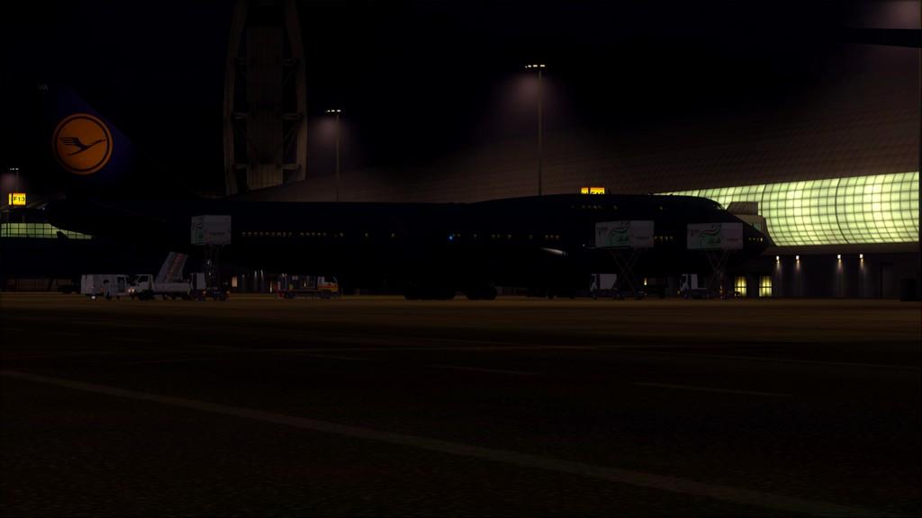 B744 Lufthansa->Bate e Volta EDDL-OMDB OMDB-EDDL-1