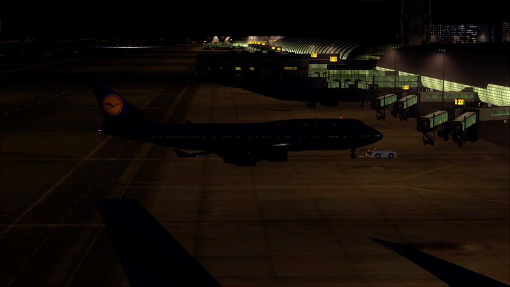 B744 Lufthansa->Bate e Volta EDDL-OMDB OMDB-EDDL1