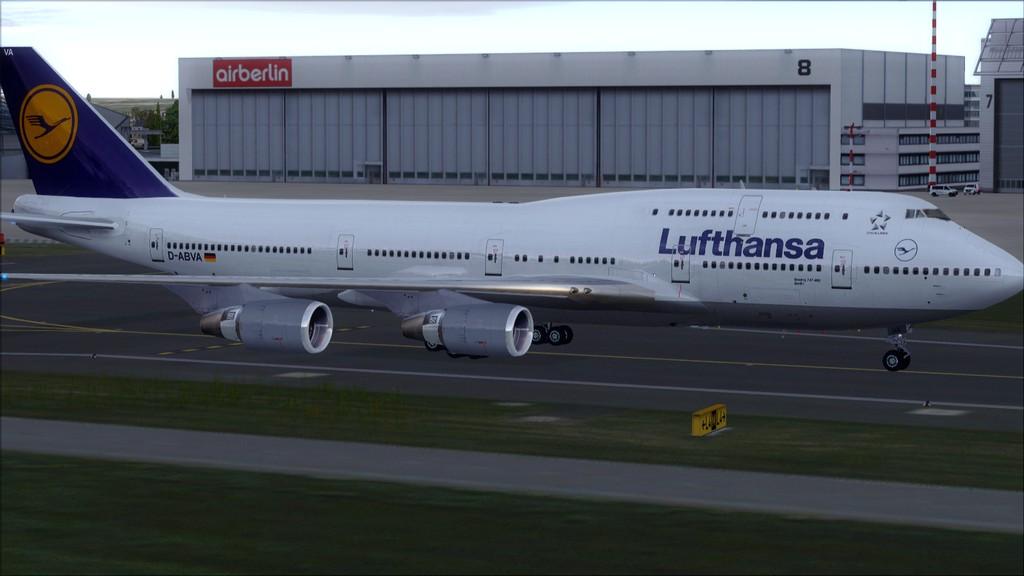 B744 Lufthansa->Bate e Volta EDDL-OMDB OMDB-EDDL11