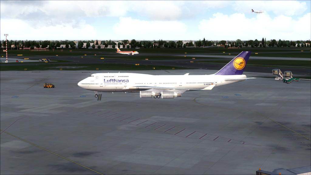 B744 Lufthansa->Bate e Volta EDDL-OMDB OMDB-EDDL13