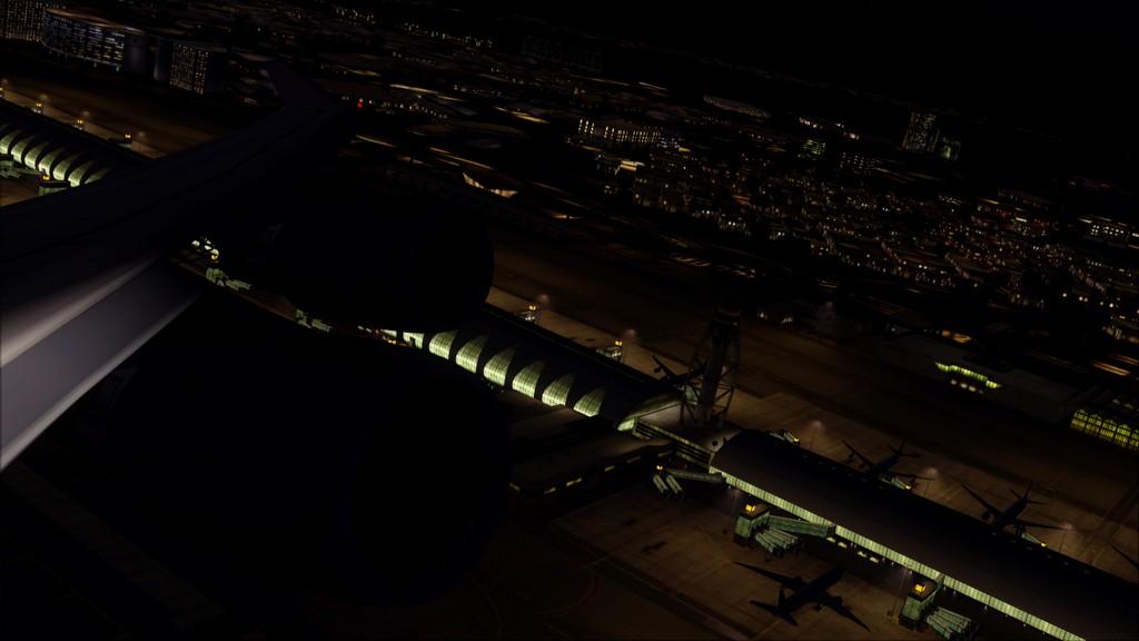 B744 Lufthansa->Bate e Volta EDDL-OMDB OMDB-EDDL3