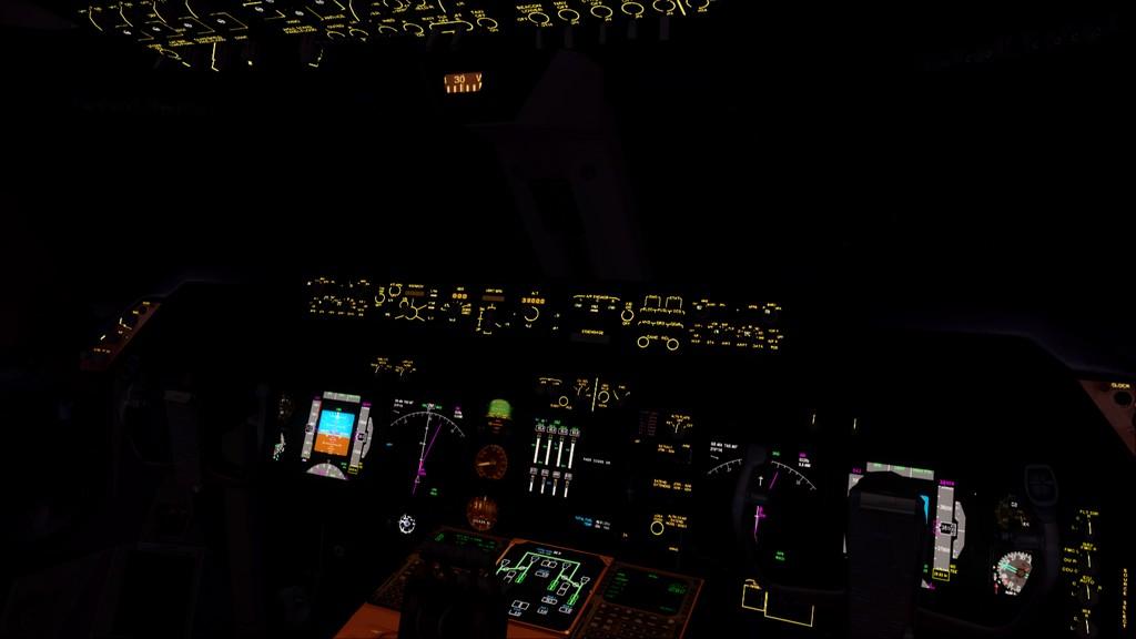 B744 Lufthansa->Bate e Volta EDDL-OMDB OMDB-EDDL4