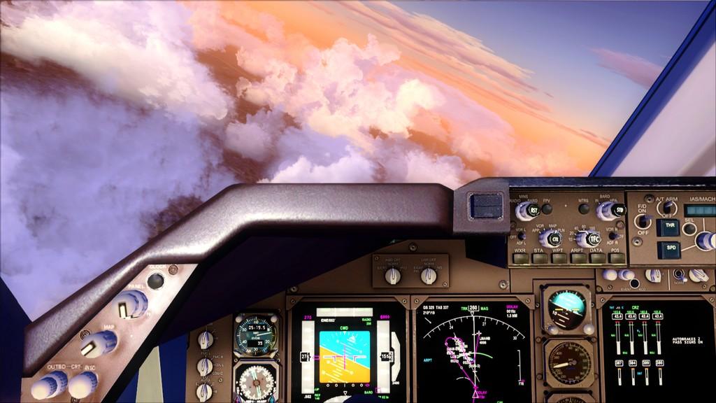 B744 Lufthansa->Bate e Volta EDDL-OMDB OMDB-EDDL6