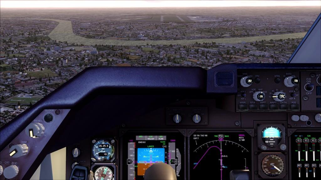 B744 Lufthansa->Bate e Volta EDDL-OMDB OMDB-EDDL8