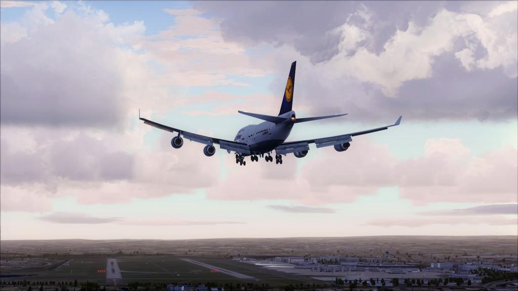 B744 Lufthansa->Bate e Volta EDDL-OMDB OMDB-EDDL9