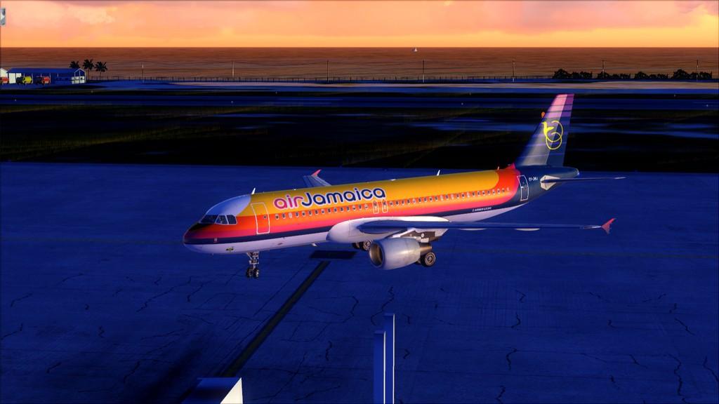 Air Jamaica A320 -> KFLL-MKJS KFLL-MKJS19
