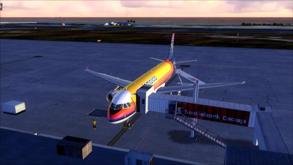 Air Jamaica A320 -> KFLL-MKJS KFLL-MKJS21