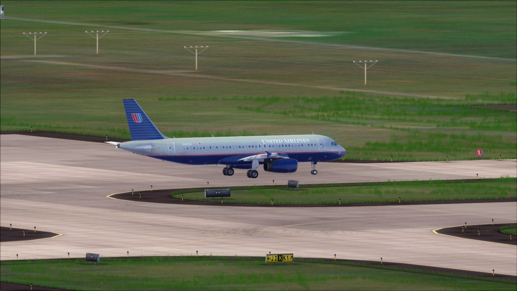 United A320 -> Washington Dulles - Miami KIAD-KMIA6