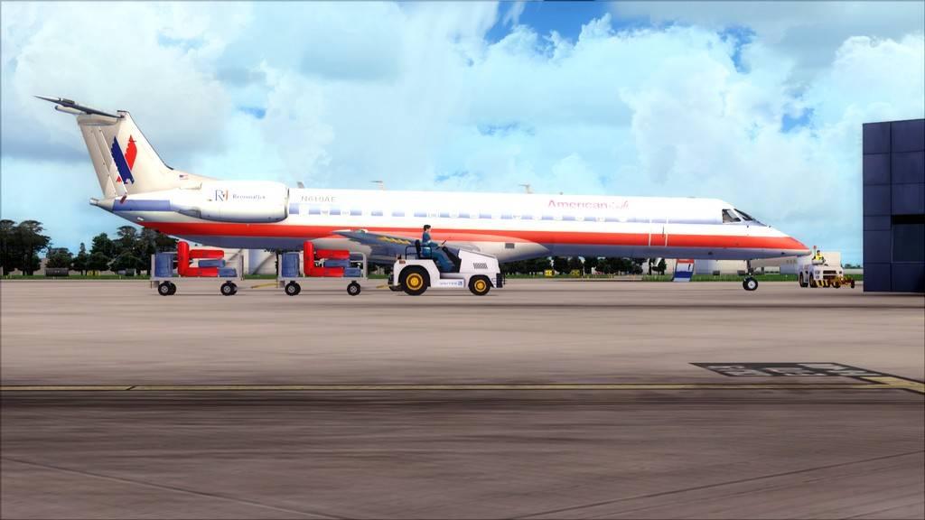 American Eagle ERJ-145-> KIAD-KJFK KIAD-KJFK