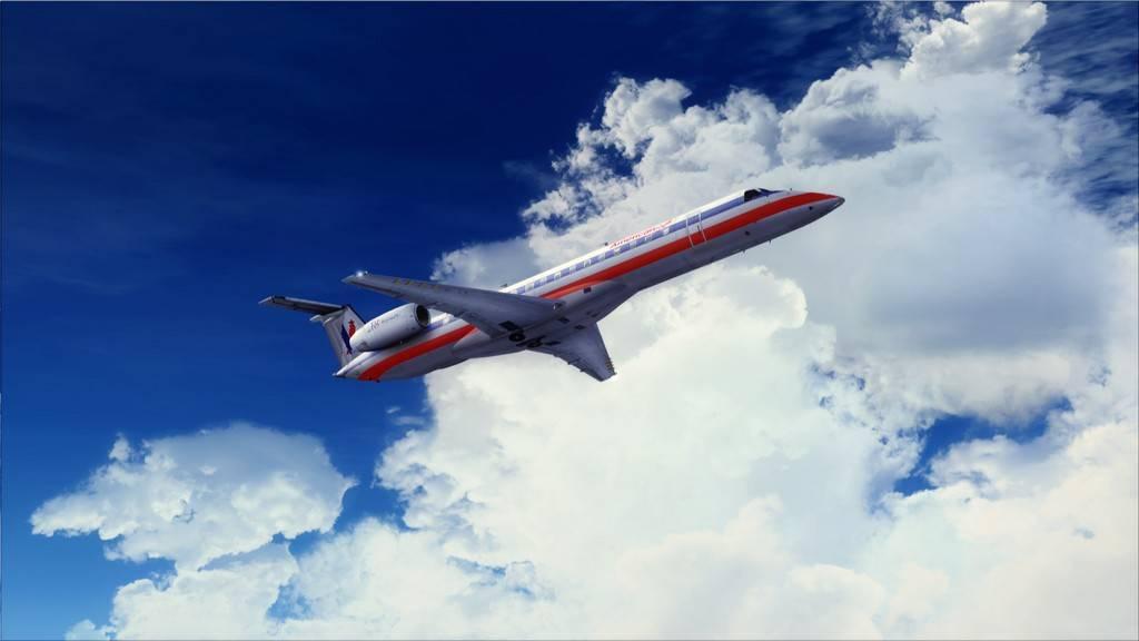 American Eagle ERJ-145-> KIAD-KJFK KIAD-KJFK10