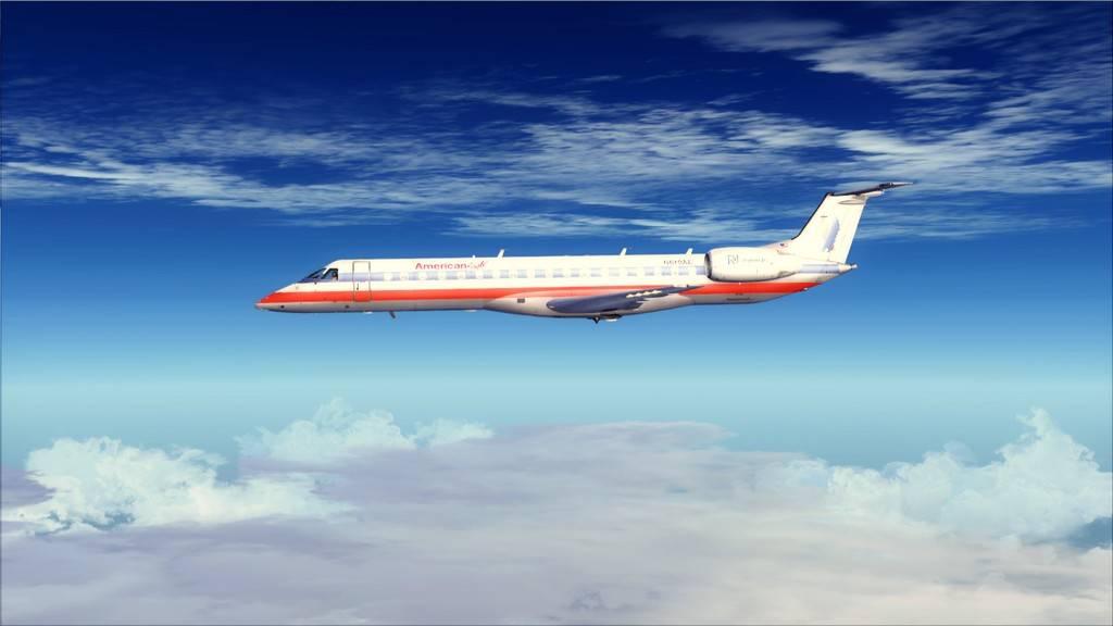 American Eagle ERJ-145-> KIAD-KJFK KIAD-KJFK13