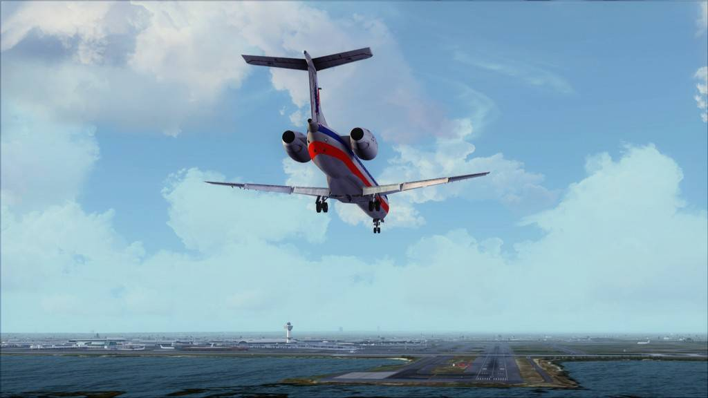 American Eagle ERJ-145-> KIAD-KJFK KIAD-KJFK17