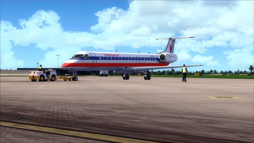 American Eagle ERJ-145-> KIAD-KJFK KIAD-KJFK2