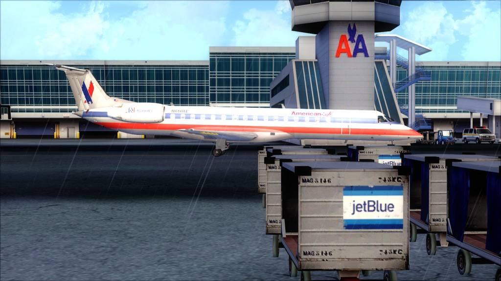 American Eagle ERJ-145-> KIAD-KJFK KIAD-KJFK22