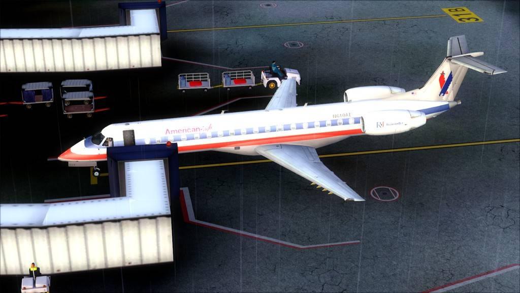 American Eagle ERJ-145-> KIAD-KJFK KIAD-KJFK24
