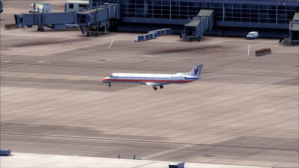 American Eagle ERJ-145-> KIAD-KJFK KIAD-KJFK3
