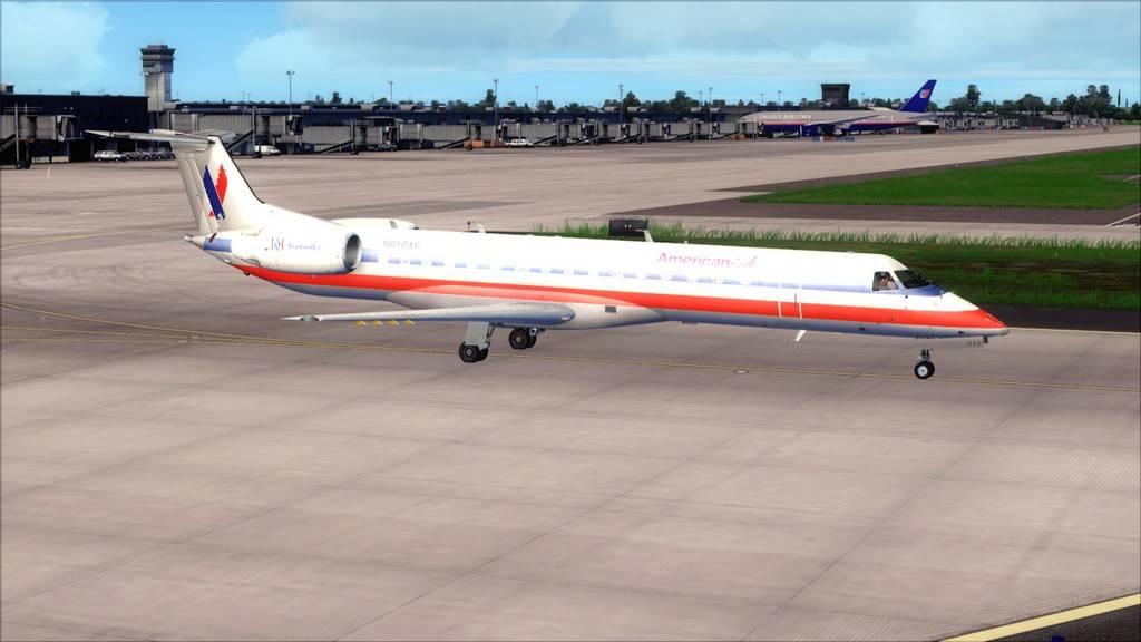 American Eagle ERJ-145-> KIAD-KJFK KIAD-KJFK4