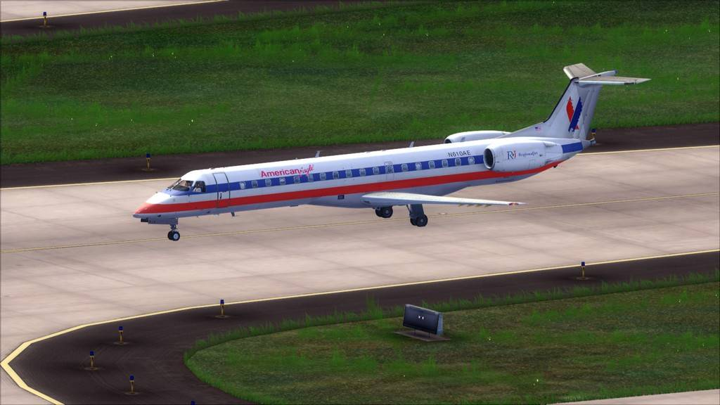 American Eagle ERJ-145-> KIAD-KJFK KIAD-KJFK5