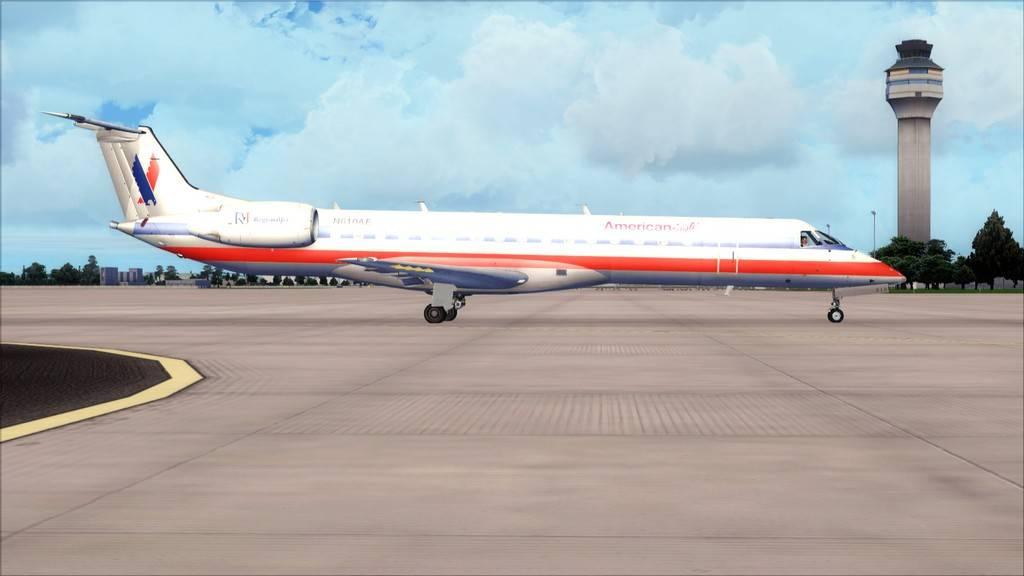 American Eagle ERJ-145-> KIAD-KJFK KIAD-KJFK6
