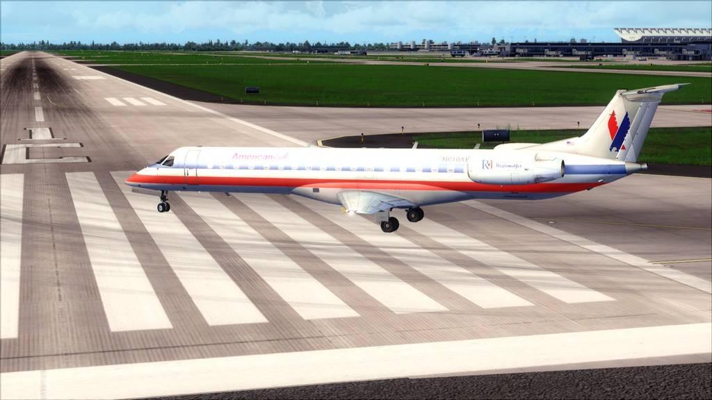 American Eagle ERJ-145-> KIAD-KJFK KIAD-KJFK7