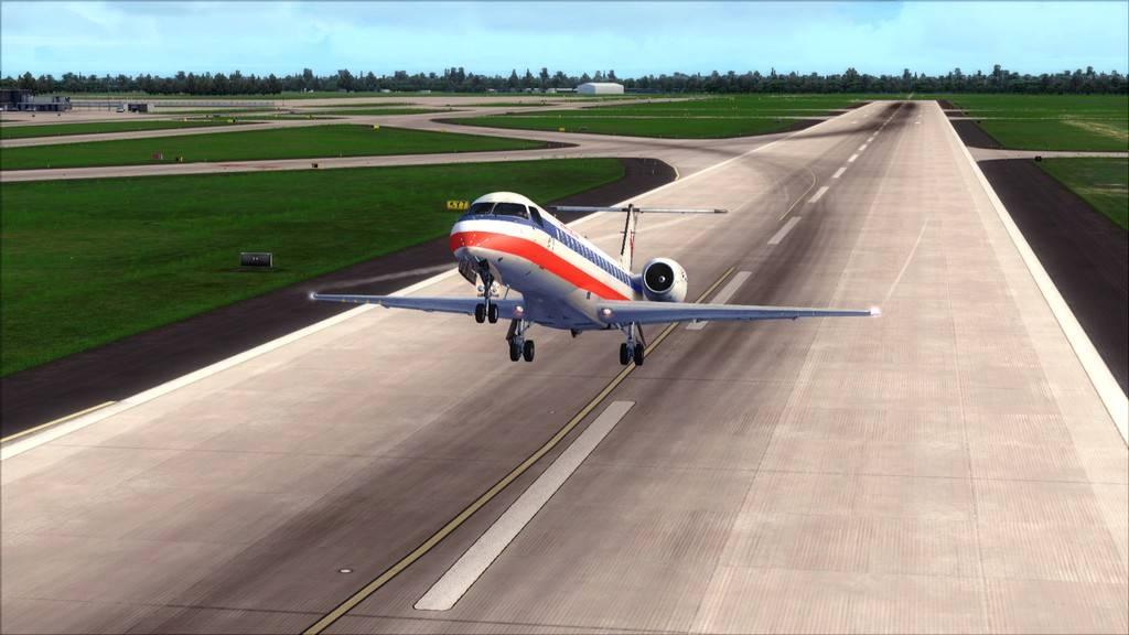 American Eagle ERJ-145-> KIAD-KJFK KIAD-KJFK9