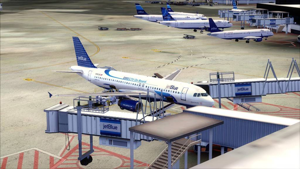 JetBlue->John F Kennedy/N. York - Princess Juliana/St Maarten KJFK-TNCM