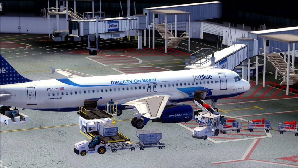 JetBlue->John F Kennedy/N. York - Princess Juliana/St Maarten KJFK-TNCM1