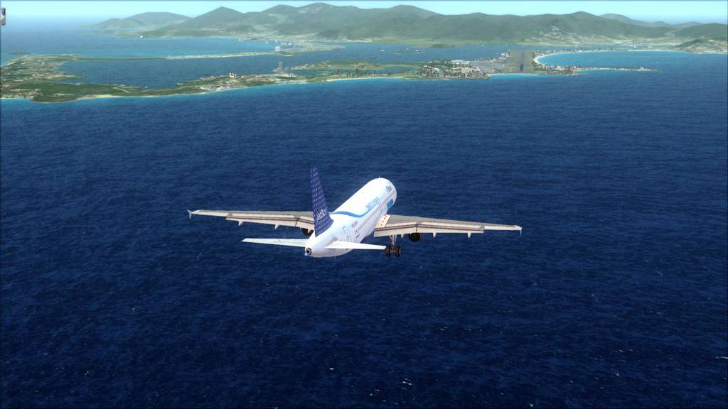 JetBlue->John F Kennedy/N. York - Princess Juliana/St Maarten KJFK-TNCM16