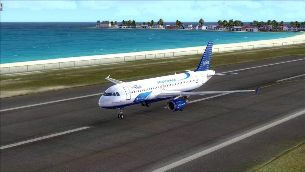JetBlue->John F Kennedy/N. York - Princess Juliana/St Maarten KJFK-TNCM19
