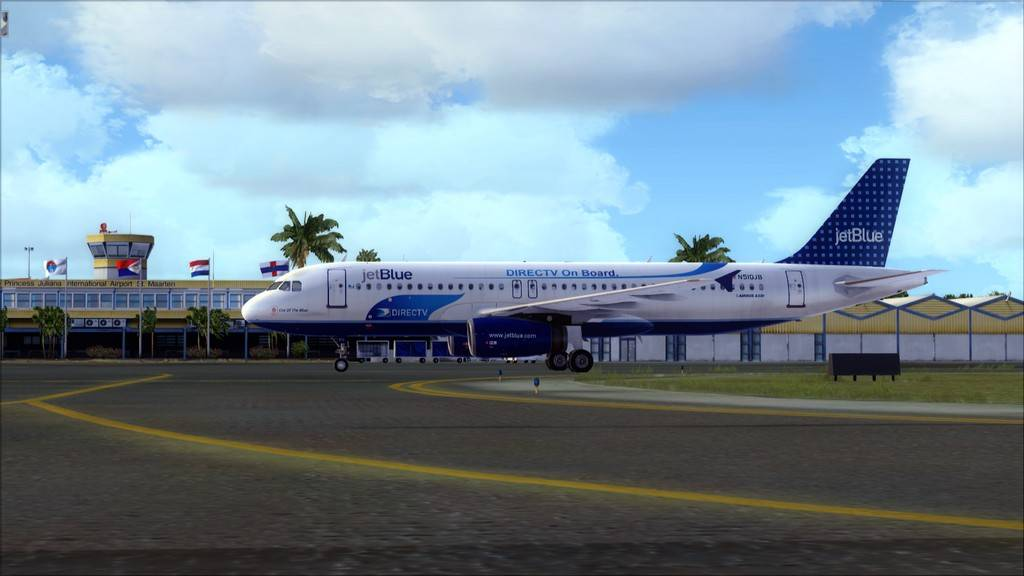 JetBlue->John F Kennedy/N. York - Princess Juliana/St Maarten KJFK-TNCM21