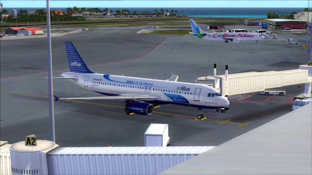 JetBlue->John F Kennedy/N. York - Princess Juliana/St Maarten KJFK-TNCM24