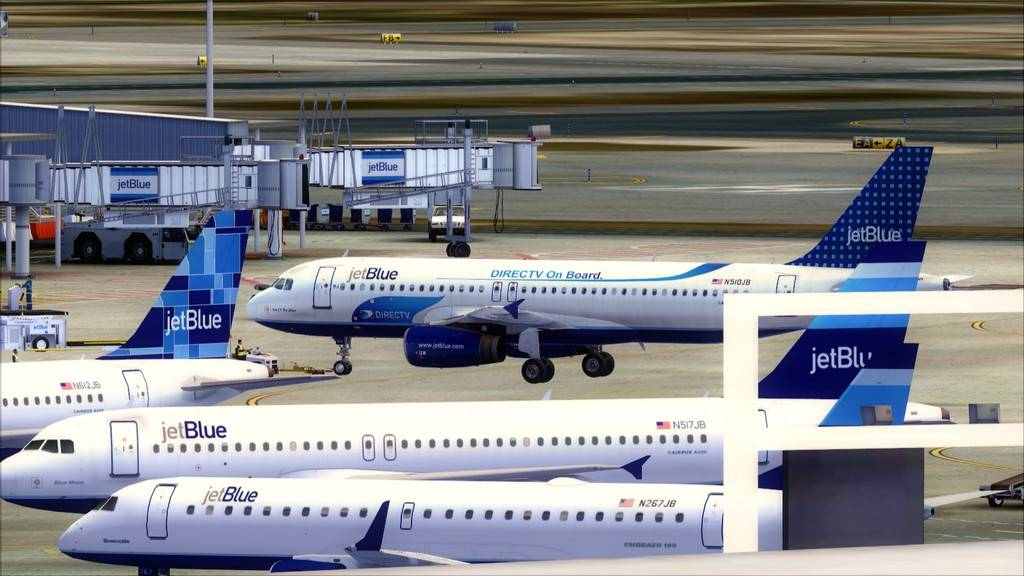 JetBlue->John F Kennedy/N. York - Princess Juliana/St Maarten KJFK-TNCM3