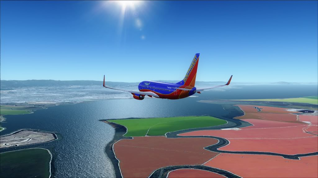 Southwest-> Las Vegas/KLAS - San Francisco/KSFO KLAS-KSFO13